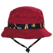 Aircraft Cotton Kids Bucket Hat alternate view 10