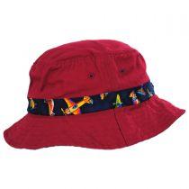 Aircraft Cotton Kids Bucket Hat alternate view 11