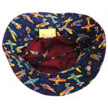 Aircraft Cotton Kids Bucket Hat alternate view 12