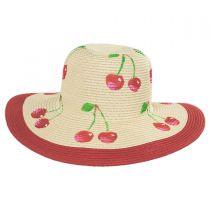 Summer Fruit Kids Toyo Straw Blend Sun Hat alternate view 2
