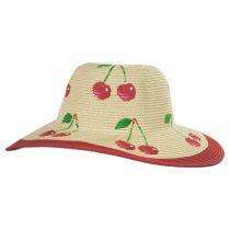 Summer Fruit Kids Toyo Straw Blend Sun Hat alternate view 3