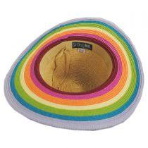 Roy G Biv Kids Toyo Straw Blend Sun Hat alternate view 4