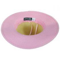 Kids Sprinkle Donut Toyo Straw Sun Hat alternate view 4