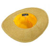 Kids Daisy Toyo Straw Blend Sun Hat alternate view 4
