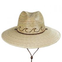 Oceano Tripilla Palm Straw Lifeguard Hat alternate view 2