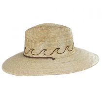 Oceano Tripilla Palm Straw Lifeguard Hat alternate view 3