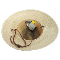 Oceano Tripilla Palm Straw Lifeguard Hat alternate view 4