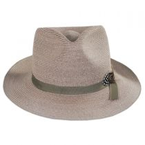 Aviator Hemp Straw Fedora Hat alternate view 2