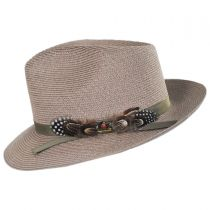 Aviator Hemp Straw Fedora Hat alternate view 15