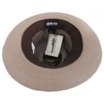 Aviator Hemp Straw Fedora Hat alternate view 16