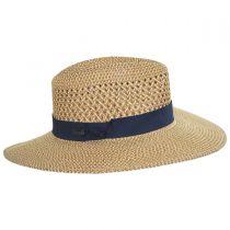 Blanchet Toyo Straw Blend Fedora Hat in
