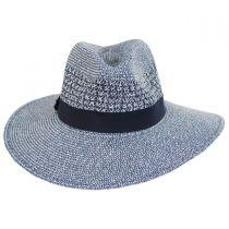 Blanchet Toyo Straw Blend Fedora Hat alternate view 2