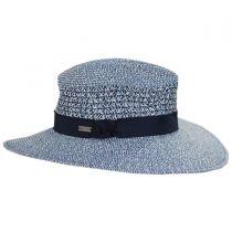 Blanchet Toyo Straw Blend Fedora Hat alternate view 3
