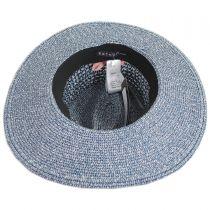 Blanchet Toyo Straw Blend Fedora Hat alternate view 4