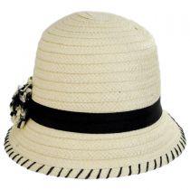 Kiki Toyo Straw Cloche Hat alternate view 6
