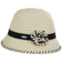 Kiki Toyo Straw Cloche Hat alternate view 7