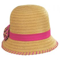 Kiki Toyo Straw Cloche Hat alternate view 2