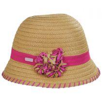 Kiki Toyo Straw Cloche Hat alternate view 3