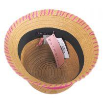 Kiki Toyo Straw Cloche Hat alternate view 4