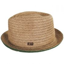 Noakes Toyo Straw Fedora Hat in