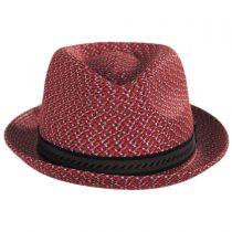 Mannes Poly Braid Fedora Hat in