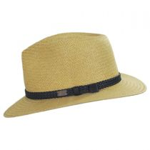 Bristol Raindura Toyo Straw Blend Fedora Hat in