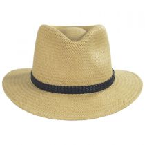 Bristol Raindura Straw Fedora Hat alternate view 22