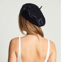 Audrey Faux Pony Hair Beret alternate view 10