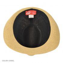Twisty Flower Toyo Straw Fedora Hat