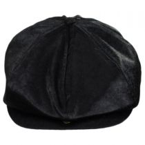 Brood Faux Pony Hair Newsboy Cap alternate view 8