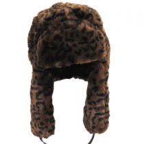 Leopard Trapper Hat alternate view 2