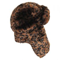 Leopard Trapper Hat alternate view 3
