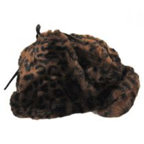 Leopard Trapper Hat alternate view 4