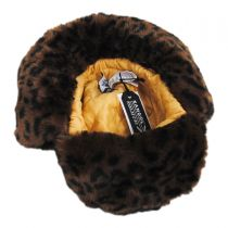 Leopard Trapper Hat alternate view 5