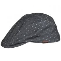 Spot Cotton Blend Flexfit Newsboy Cap in