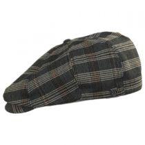 Brood Plaid Newsboy Cap in