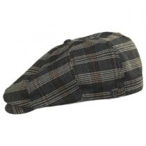 Brood Plaid Newsboy Cap in