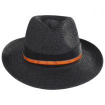 Denney Toyo Straw Blend Fedora Hat alternate view 2