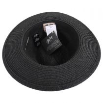 Denney Toyo Straw Blend Fedora Hat alternate view 4