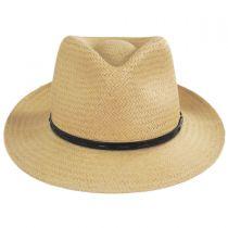 Lappen Raindura Toyo Straw Blend Fedora Hat in