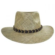Alder Seagrass Straw Outback Hat alternate view 6