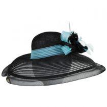 Eloise Sinamay Blend Lampshade Hat alternate view 7