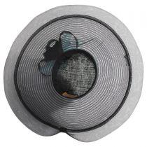 Eloise Sinamay Blend Lampshade Hat alternate view 8