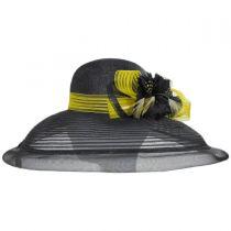 Eloise Sinamay Blend Lampshade Hat alternate view 11