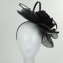 Priscilla Sinamay Fascinator Hat alternate view 3