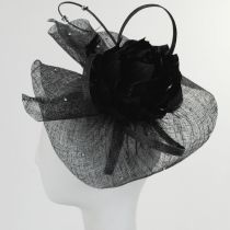 Priscilla Sinamay Fascinator Hat alternate view 4