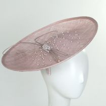 Catherine Sinamay Fascinator Hat alternate view 5