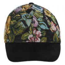 Floral Adjustable Baseball Cap in
