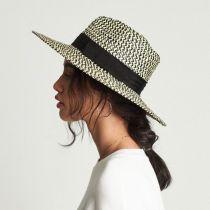 Joanna Straw Fedora Hat in