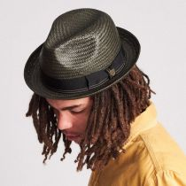 Castor Toyo Straw Fedora Hat in